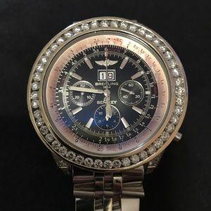 Authentic Diamond Breitling watch, NO RETURN!!!